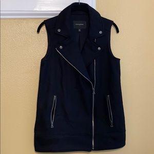Banana Republic Wool Zipper Vest XS